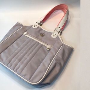 ADIDAS 2007 Pink Gray Tote Purse